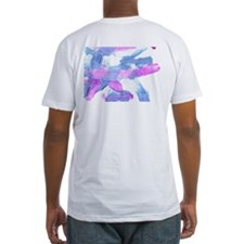 Jesse the horse painted Fitted barn wear T-Shirt