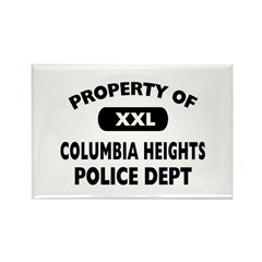 Property of Columbia Heights Police Dept Rectangle