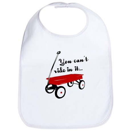Little Red Wagon Bib