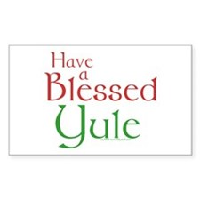 Blessed Yule Decal