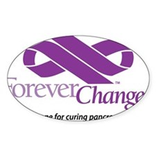ForeverChanged - cancer/infinity ribbon Decal