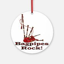 Bagpipez Ornament (Round)