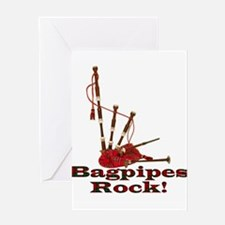 Bagpipez Greeting Card