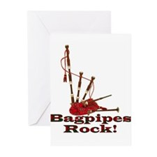 Bagpipez Greeting Cards (Pk of 10)
