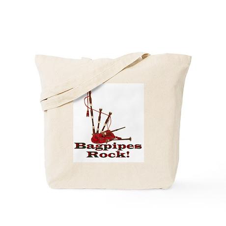 Bagpipez Tote Bag