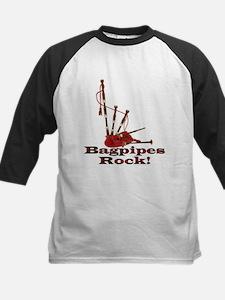 Bagpipez Kids Baseball Jersey