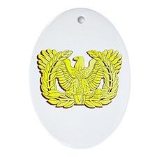 Cute Ruck Oval Ornament