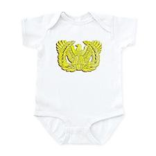 Cute Warrant eagle Infant Bodysuit