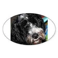 Puppy Oval Decal