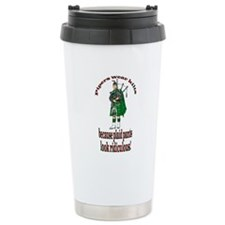 Plaid Pants Travel Mug