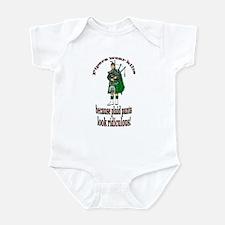 Plaid Pants Infant Bodysuit