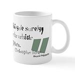 Bicycle Philosophy: Vehicle of Poets - Mug