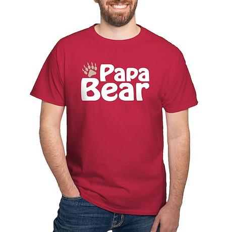 Papa Bear Claw Dark T-Shirt