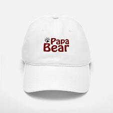 Papa Bear Claw Baseball Baseball Cap