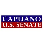 Mike Capuano for Senate bumper sticker