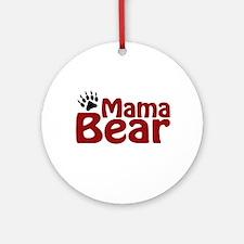 Mama Bear Claw Ornament (Round)