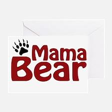 Mama Bear Claw Greeting Card