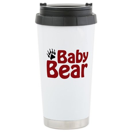 Baby Bear Claw Stainless Steel Travel Mug