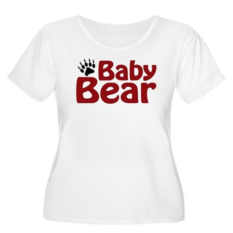 Baby Bear Claw Women's Plus Size Scoop Neck T-Shir