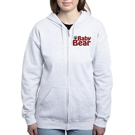 Baby Bear Claw Women's Zip Hoodie