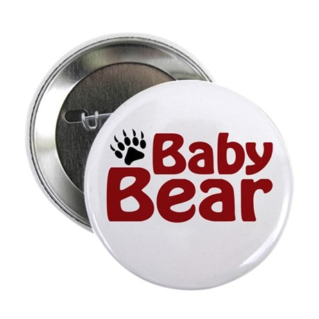 """Baby Bear Claw 2.25"""" Button"""