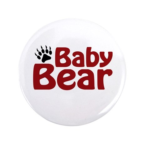 "Baby Bear Claw 3.5"" Button"