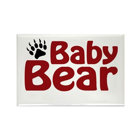 Baby Bear Claw Rectangle Magnet (10 pack)