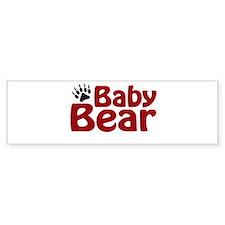 Baby Bear Claw Bumper Bumper Sticker