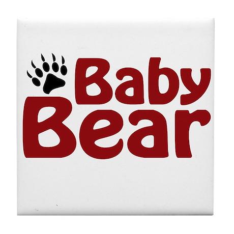 Baby Bear Claw Tile Coaster