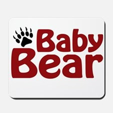 Baby Bear Claw Mousepad