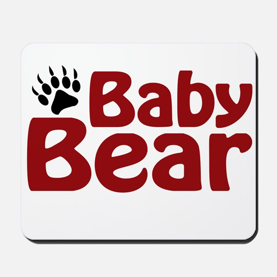 Baby Bear Claw Mousepad