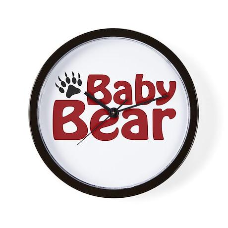 Baby Bear Claw Wall Clock