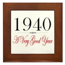 1940 Framed Tile