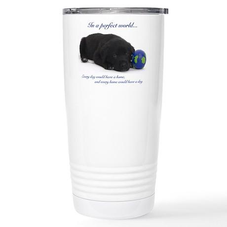 Perfect World (Lab) Stainless Steel Travel Mug