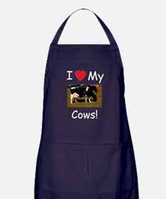 Love My Cows Apron (dark)