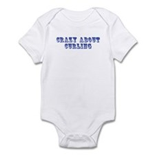 Crazy about Curling Infant Bodysuit
