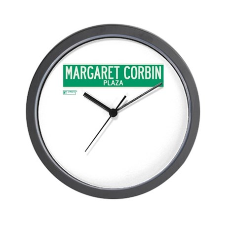 Margaret Corbin Plaza in NY Wall Clock