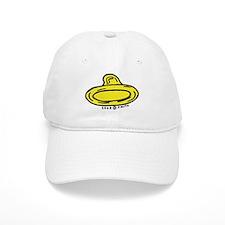 Left Leaning Condom Baseball Cap