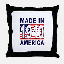 1940 Throw Pillow