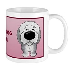 Big Nose Sheepdog Mom Small Mug