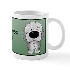 Big Nose Sheepdog Dad Mug