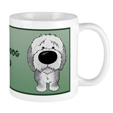 Big Nose Sheepdog Dad Small Mug