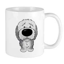 Big Nose Sheepdog Small Mug