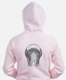 Big Nose Sheepdog Zipped Hoodie
