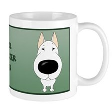 Big Nose Bull Terrier Dad Mug