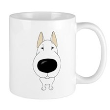 Big Nose Bull Terrier Coffee Mug