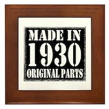1930 Framed Tile