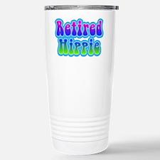 Retired Hippie Stainless Steel Travel Mug