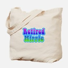Retired Hippie Tote Bag