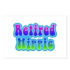Retired Hippie Postcards (Package of 8)